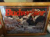 BUDWEISER Painting DUCK MIRROR